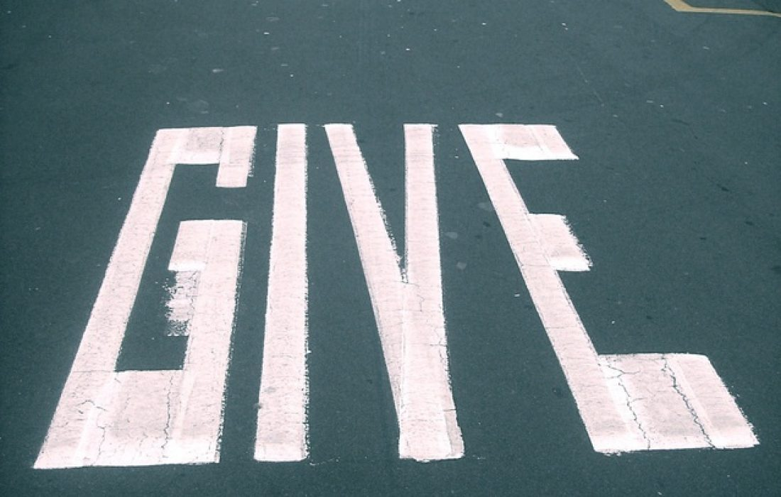 The Art of Giving to Receive